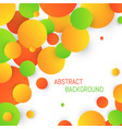 abstract circle background colorful template for vector image vector image