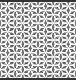 abstract seamless pattern stylized flower pattern vector image vector image