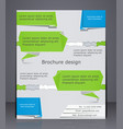 business brochure brochure design in style of vector image vector image