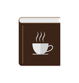 Coffee book vector image vector image