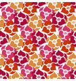 flowers seamless pattern background wild roses vector image vector image