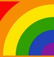 lgbtq rainbow colorful pattern vector image vector image