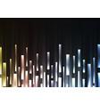 metallic overlap pixel speed abstract background vector image vector image