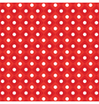polka dot checkered pattern vector image vector image