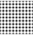 seamless monochrome circle pattern - abstract vector image vector image
