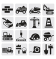 Construction set vector image vector image