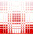 red repeating abstract dot pattern background vector image vector image