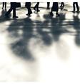 Street walkers vector image vector image