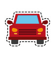 car frontview icon image vector image