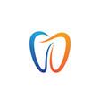 dental symbol vector image