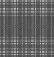 gray Tartan seamless background vector image vector image