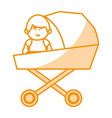 Little baby in cart avatar character