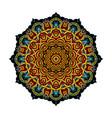 mandala eastern style illistration vector image vector image