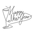 new year abstract drinks vector image vector image