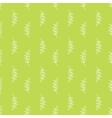 Olive branch pattern vector image vector image