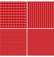 Red and white background for picnics Eps 10 vector image vector image