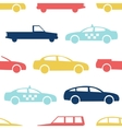 Retro car seamless pattern vector image vector image