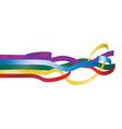 ribbons2 vector image