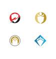 shield symbol for your web site design logo app ui vector image