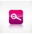Zoom out icon Search loupe vector image