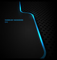 abstract template blue vertical line and lighting vector image vector image