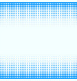 blue straight halftone circle background vector image