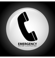 emergency signal vector image