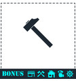 hummer icon flat vector image vector image