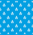 protection life pattern seamless blue vector image vector image