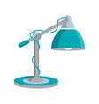 reading lamp icon in flat style vector image vector image