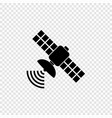 space satellite antenna vector image