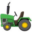 tractor cartoon vector image vector image