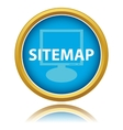 Sitemap button vector image