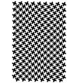 Block pattern vector image vector image