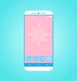Flat Smartphone 2 vector image vector image