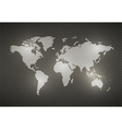 World Map Metal texture vector image vector image