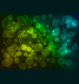 bokeh deep abstract with point light vector image