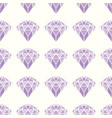 seamless pattern geometric purple pink diamonds vector image vector image