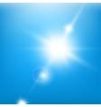 Sky BlueBeams vector image