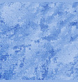 blue background with spots and stains vector image vector image