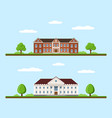 college and university vector image
