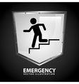 emergency signal vector image vector image