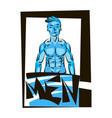 fitness logo design template vector image
