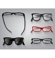 Glasses eye wear glasses vector image vector image