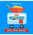 Sale of fast food vector image