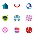 logo design elements set 49 vector image