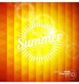 Abstract background on a summer holiday theme vector image vector image