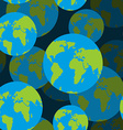 earth seamless pattern 3d background of sign