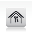 home key icon vector image vector image