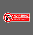 label no ice fishing vector image vector image